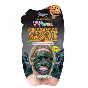 ماسک صورت 7th heaven مونته ژنه حاوی زغال چوب وزن 15 گرم