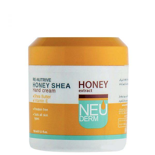 کرم مرطوب کننده دست نئودرم مدل Re Nutrive حاوی عصاره عسل حجم 150 میل