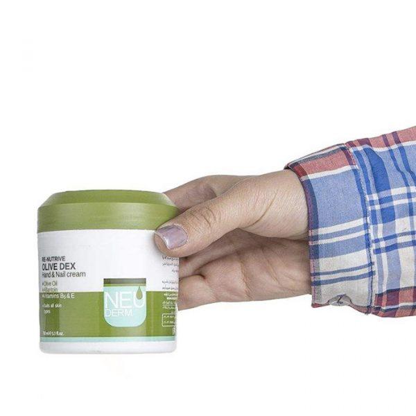 کرم ترمیم کننده پوست دست و ناخن نئودرم مدل Re Nutrive حجم 150 میل