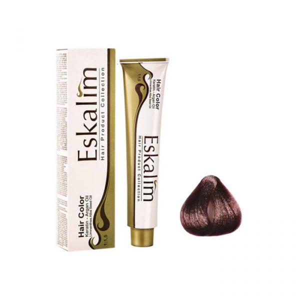 رنگ مو اسکالیم شماره 6.5 رنگ بلوند ماهاگونی تیره حجم 100 میلی لیتر