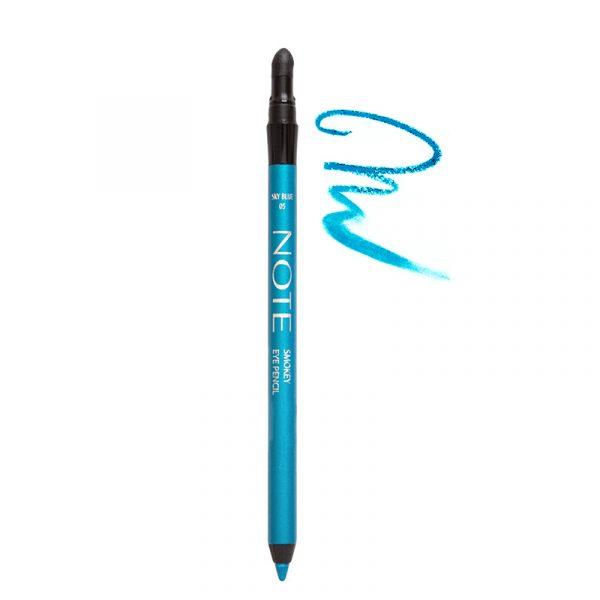 مداد چشم نوت مدل Smokey شماره 05 - آبی آسمانی