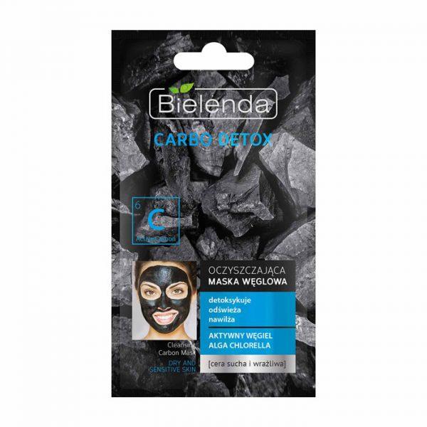 ماسک زغال پاک کننده بی یلندا مناسب پوست های خشک و حساس