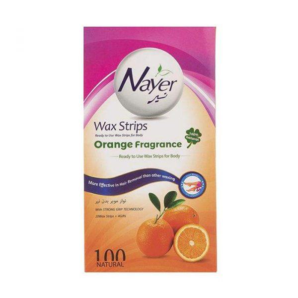 نوار موبر بدن نیر مدل Orange بسته 20 عددی