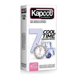 کاندوم کاپوت 12 عددی کول تايم يک ساعته - 7 کاره سرد
