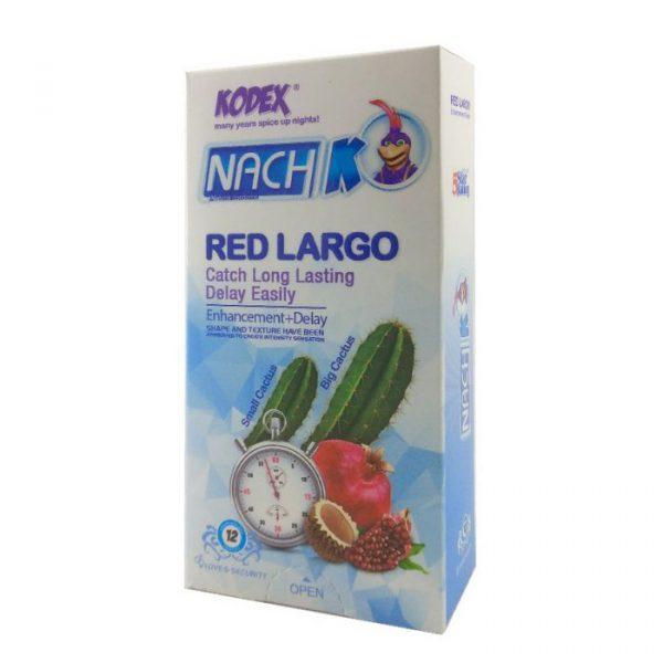 کاندوم کدکس ۱۲ عددی کاکتوس قرمز (لارگو)