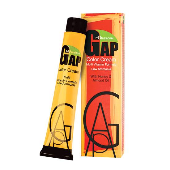 رنگ مو گپ سری طلایی مدل بلوند طلایی روشن شماره 8.3