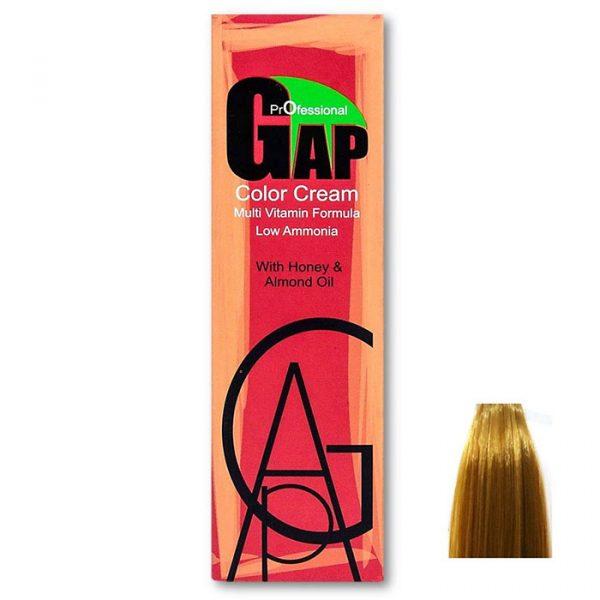 رنگ مو گپ سری طلایی مدل بلوند طلایی روشن شماره 9.3