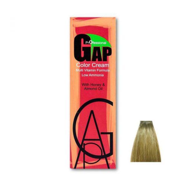 رنگ مو گپ سری زیتونی مدل بلوند زیتونی روشن شماره 8.2