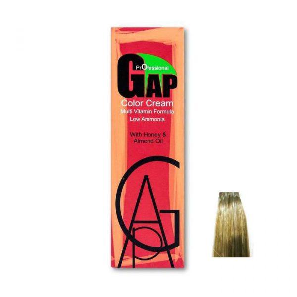 رنگ مو گپ سری زیتونی مدل بلوند زیتونی روشن شماره 9.2