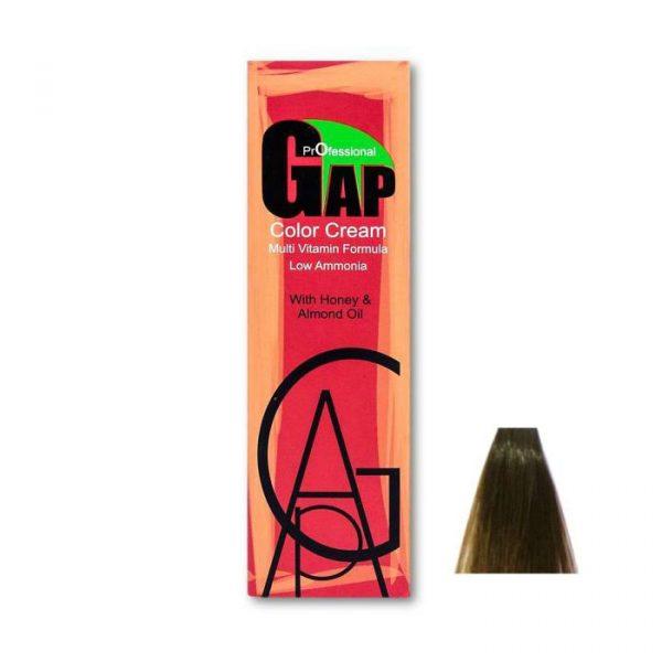 رنگ مو گپ مدل قهوه ای نسکافه ای روشن شماره 5.73