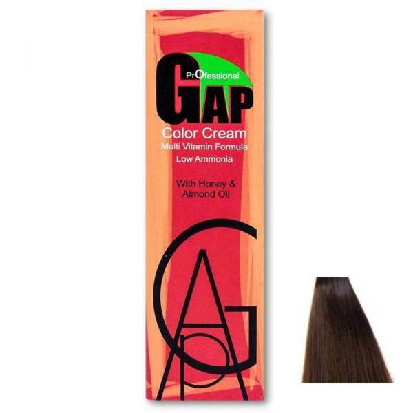 رنگ مو گپ سری شکلاتی مدل قهوه ای شکلاتی روشن شماره 5.7