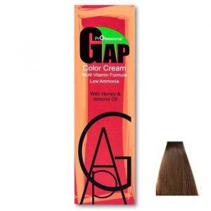رنگ مو گپ سری شکلاتی مدل بلوند شکلاتی شماره 7.7