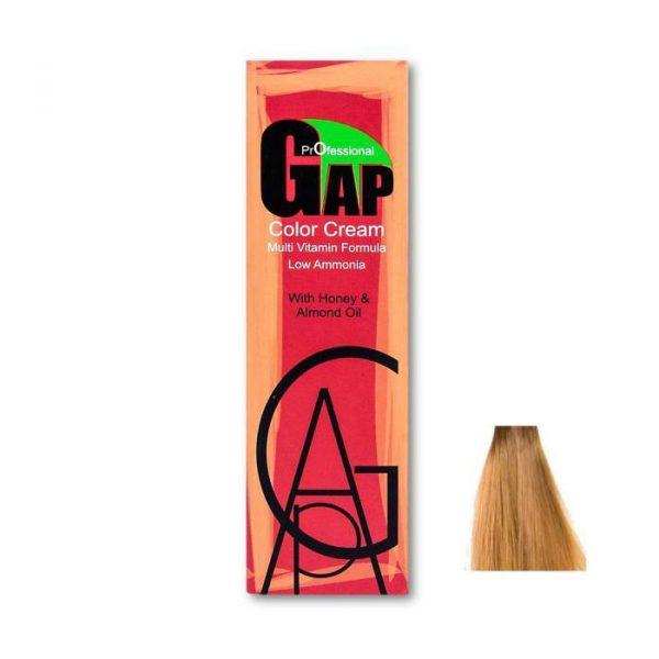 رنگ مو گپ سری شکلاتی مدل بلوند شکلاتی روشن شماره 8.7