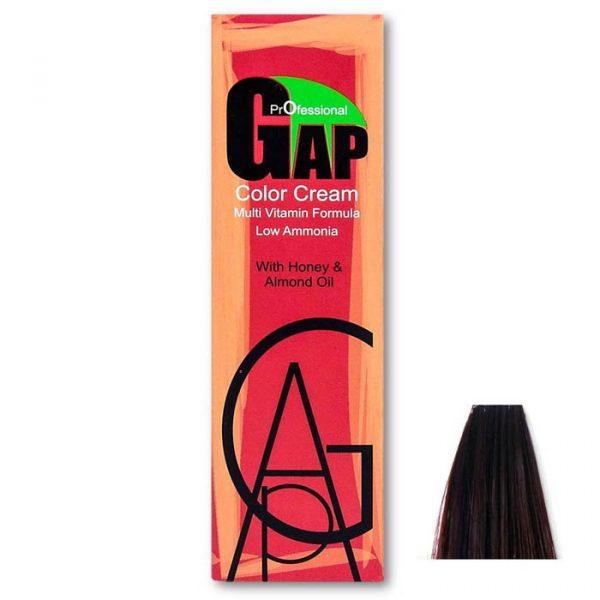 رنگ مو گپ سری بنفش ماهاگونی مدل بلوند بنفش ماهاگونی تیره شماره 6.5