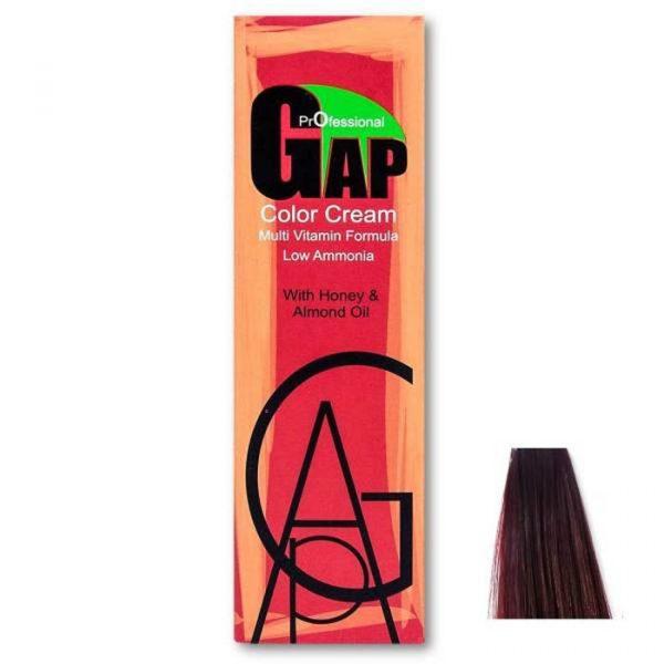رنگ مو گپ سری بنفش ماهاگونی مدل بلوند بنفش ماهاگونی شماره 7.5