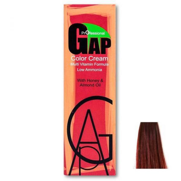 رنگ مو گپ سری بنفش ماهاگونی مدل بلوند بنفش ماهاگونی روشن شماره 8.5