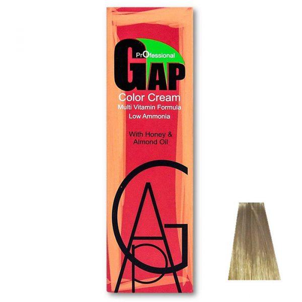 رنگ مو گپ سری هایلایت مدل خاکستری بنفش اکسترا بلوند خیلی روشن شماره 12.61
