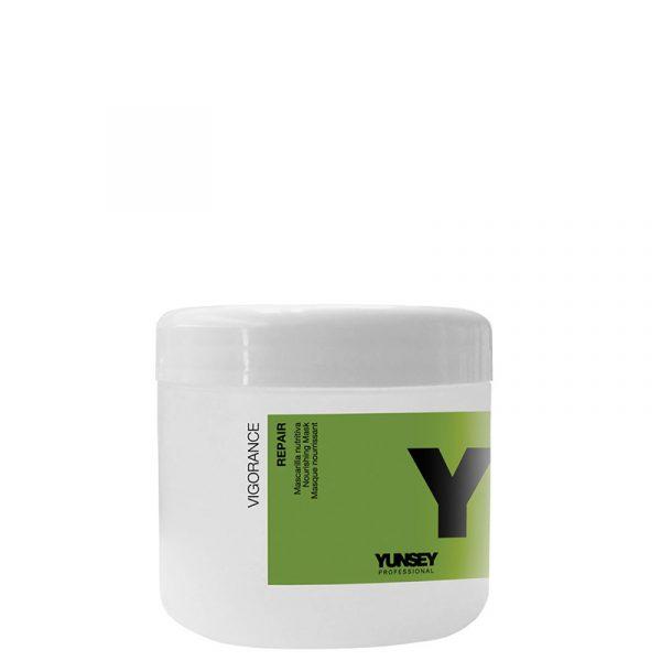 ماسک مغذی و ترمیم کننده موهای آسیب دیده و خشک یانسی پروفشنال مدل ویتامینه حجم 500 میل