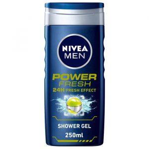 شامپو سر و بدن مردانه نیوآ مدل Power Fresh حجم 250 میلی لیتر