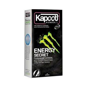 کاندوم کاپوت 12 عددی انرژی