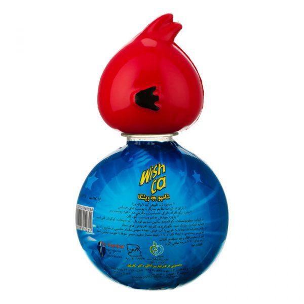 ویشکا شامپو بچه انگری بردز 330 گرم قرمز