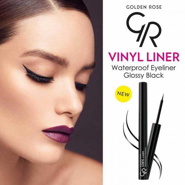 خط چشم ضد آب گلدن رز مدل Vinyl Liner