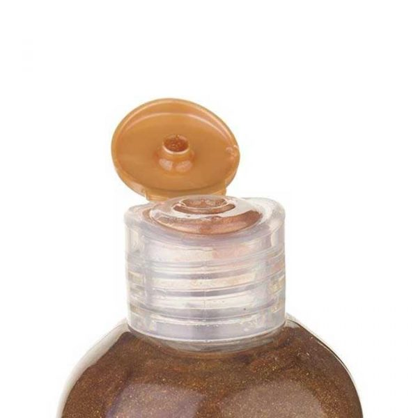 روغن برنزه کننده ویتامینه سی گل با SPF 4 حجم 250 میلی لیتر