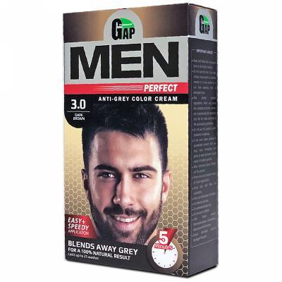 کیت رنگ مو مردانه گپ رنگ قهوه ای تیره شماره ۳٫۰