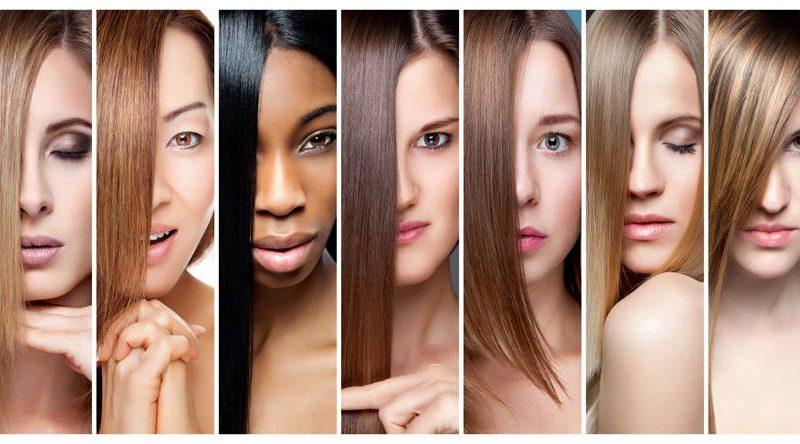 انواع رنگ مو برای پوست سبزه و سفید