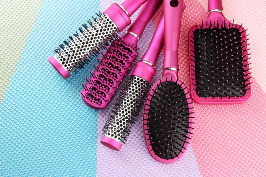 برس مناسب مو - مراقبت از مو
