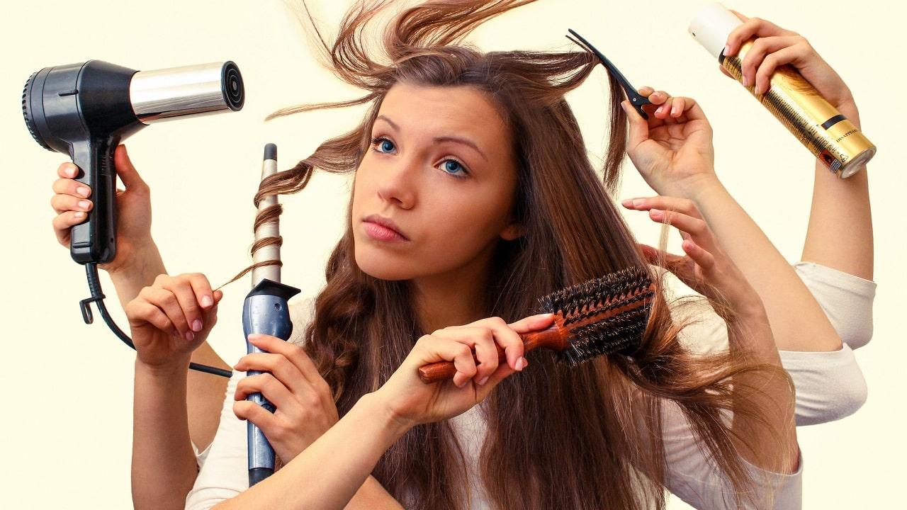 مراقبت از انواع مو