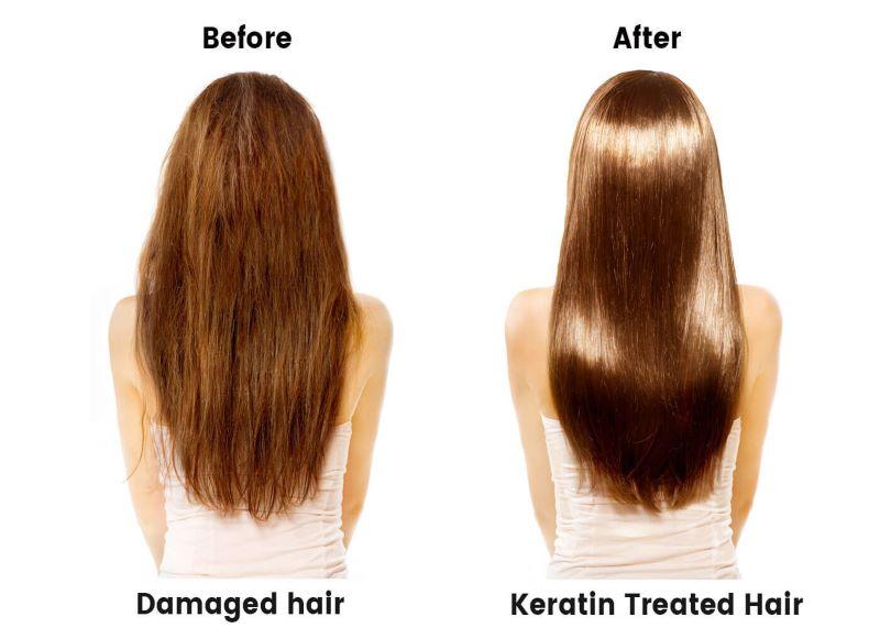 تاثیر کراتینه کردن مو