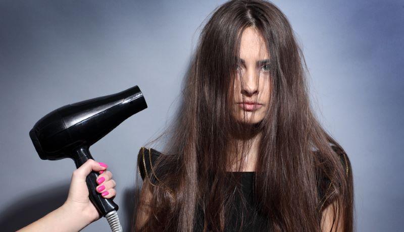 حرارت علت وزی مو
