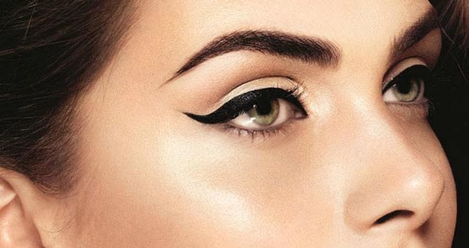 خط چشم برای آرایش چشم درشت