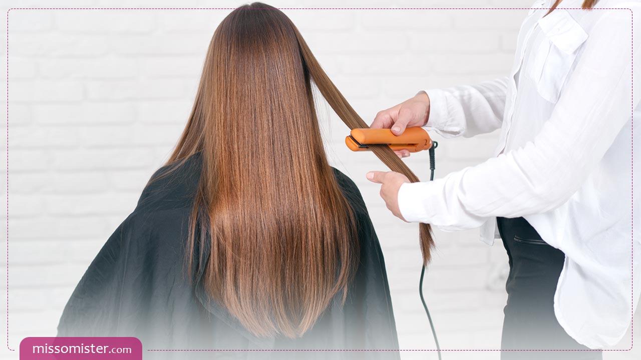 همه چیز در مورد کراتینه کردن مو