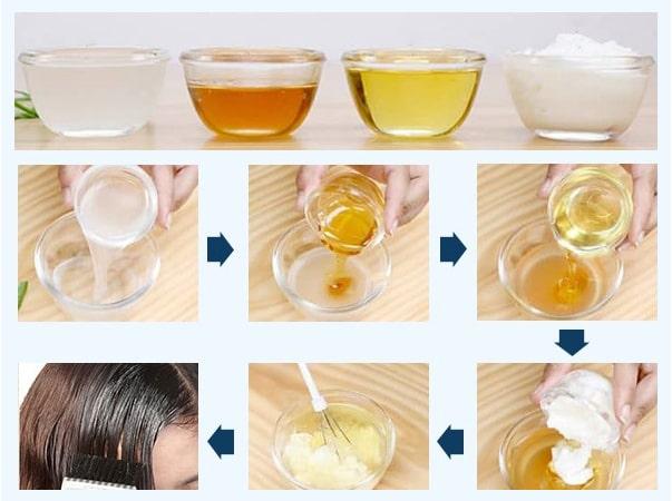 روش تهیه و استفاده از ماسک روغن زیتون