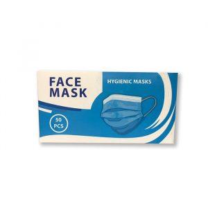 ماسک دو لایه پزشکی Hygienic بسته 50 عددی