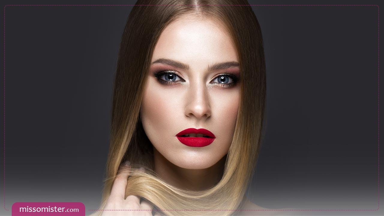 آموزش مهمترین ترفندهای آرایش برای صورت لاغر و کشیده