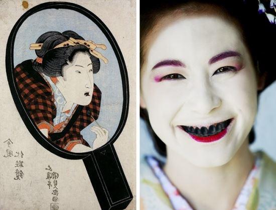 رسوم عجیب ژاپنی ها