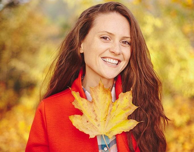 رنگ مو پاییز