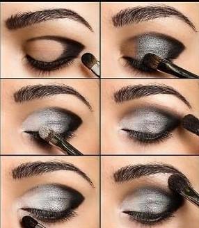 آموزش انواع سایه چشم