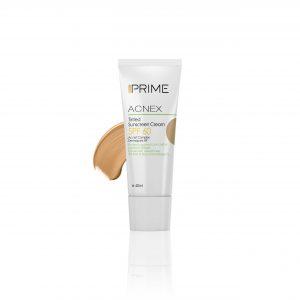 کرم ضد آفتاب رنگی پریم مناسب پوست چرب با SPF 60 حجم 40 میل-بژ