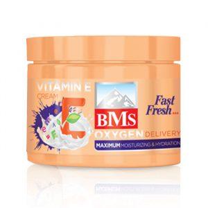 کرم مرطوب کننده ویتامین E بی ام اس BMS حجم 200 میلی لیتر