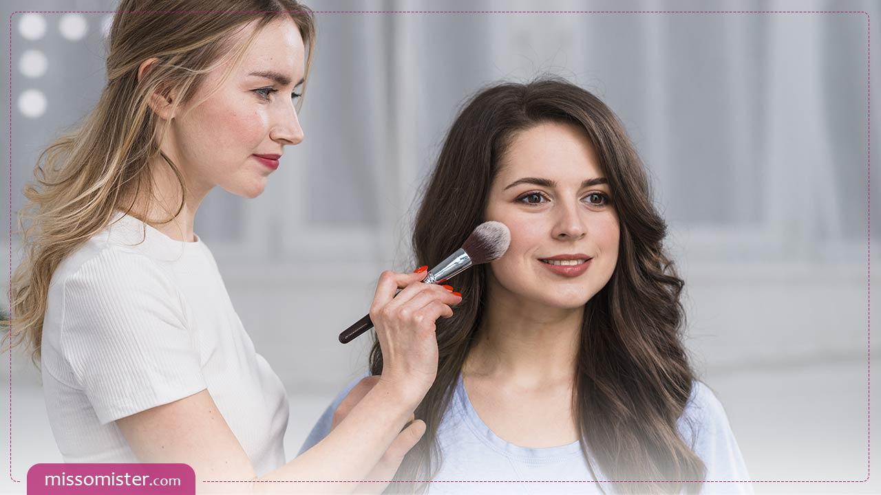 9 ترفند مهم و کاربردی برای آرایش گونه ها + ویدیوی آموزشی