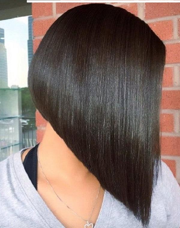 مدل مو کوتاه باب زاویه دار