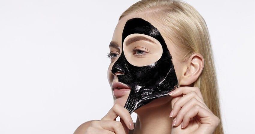 پاکسازی با ماسک زغال