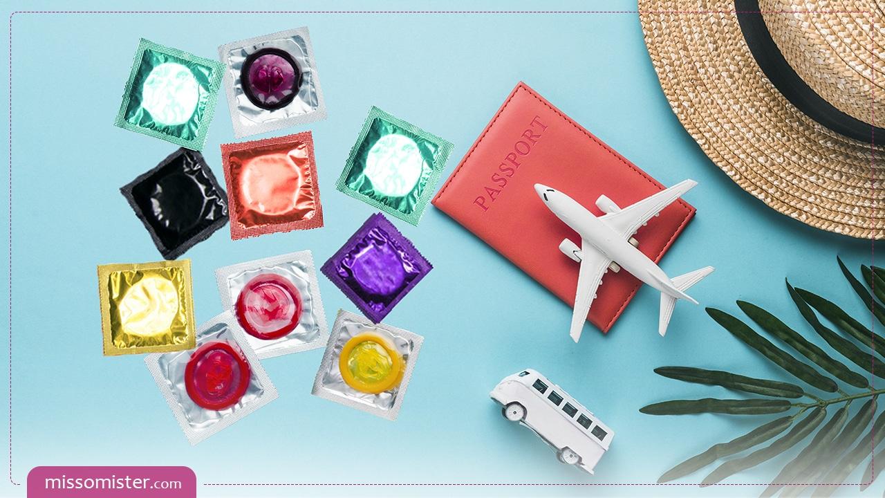 کاندوم مسافرتی چیست و طرز استفاده از آن چگونه است؟
