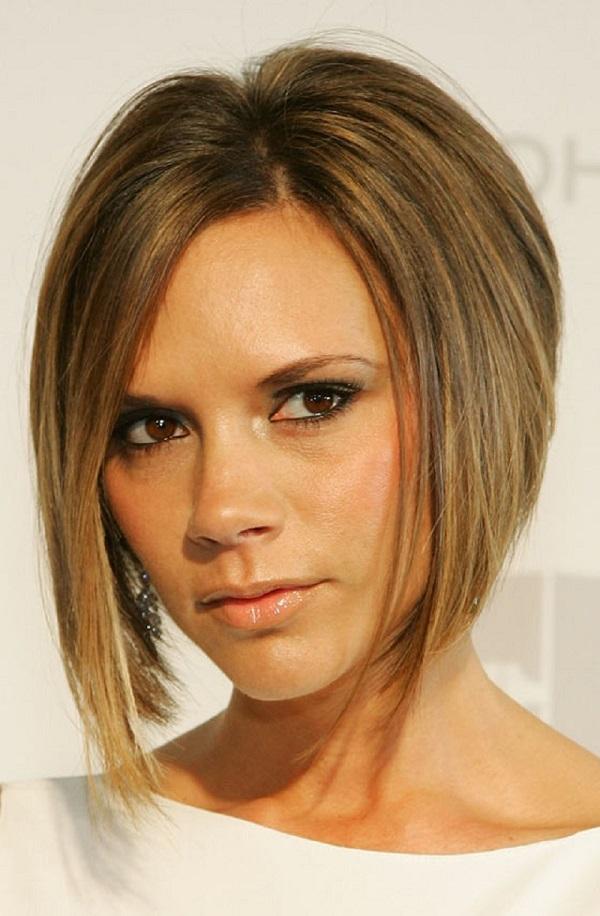 مدل موی کوتاه زنانه جدید برای صورت مثلثی