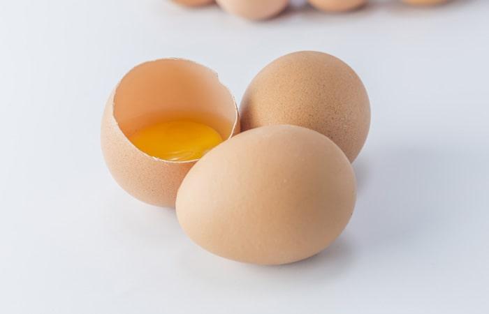 ماسک مو تخم مرغ