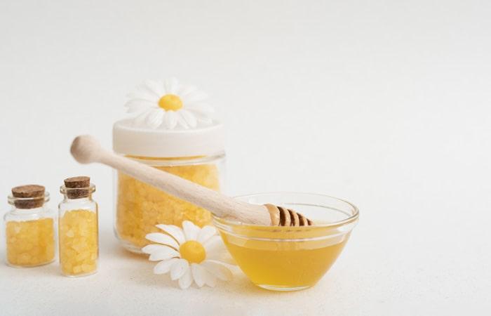 ماسک عسل برای مو
